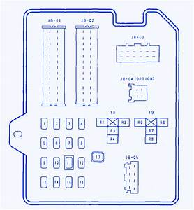 Mazda 6s 2 3l 2007 Fuse Box  Block Circuit Breaker Diagram
