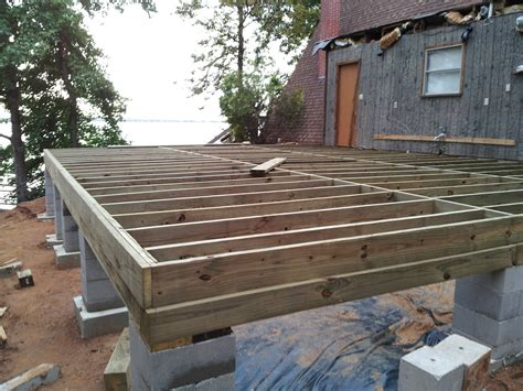 Pier Foundation Design by How To Build A Pier And Beam Floor Gurus Floor