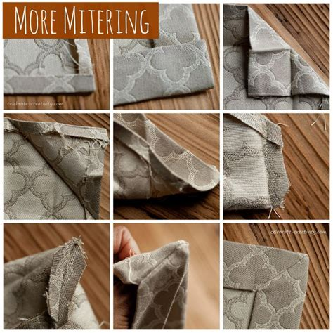 Upholstery Corners by 7 Best Images About Mitered Corners On