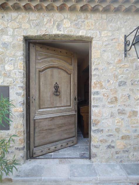 2 telematin cuisine porte d 39 entrée ancienne en chêne