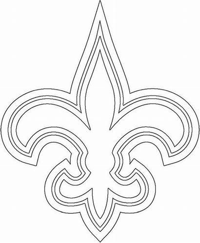 Coloring Jaguars Jacksonville Saints Orleans Nfl Teams