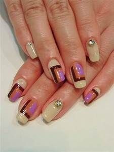 chic and easy fall nail designs