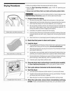 Frigidaire Fleb43rgs2 User Manual Laundry Center Manuals