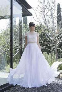 designer lace crop top dresses for wedding 2017 with prices With crop top wedding dress