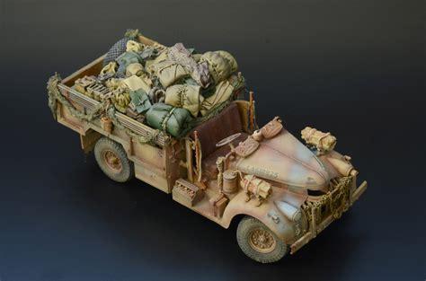 lrdg long range desert group cwt chev truck