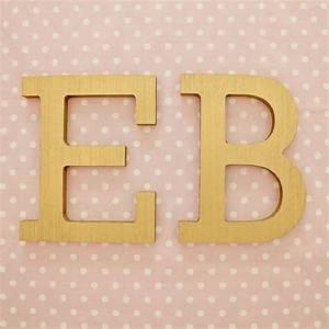 gold block wood wall letters With gold block letters