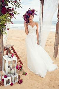 blooms by the sea beach wedding dresses With ocean wedding dress