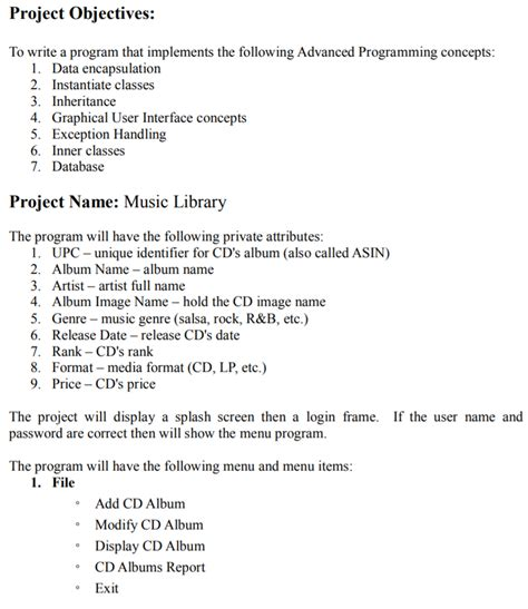 How To Write A Objective by Project Objectives To Write A Program That Implem