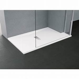Bac Douche Italienne : receveur de douche extra plat taille xl rectangulaire ~ Premium-room.com Idées de Décoration