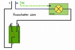Lichtschalter Mit Kontrollleuchte Schaltplan : wechselschaltung und kreuzschaltung mit schaltplan campofant ~ Buech-reservation.com Haus und Dekorationen