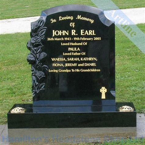 headstone cemetery