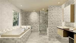 salle de bain en marbre sols murs en marbre d39italie With salle de bain marbre carrare
