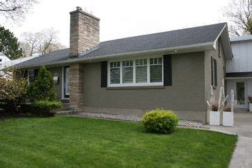 house colors exterior  ontario bungalow   minimalist update   clever