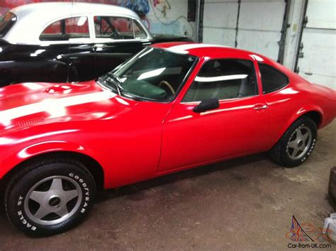 Opel Gt For Sale Ebay by 1972 Opel Gt No Reserve Auction