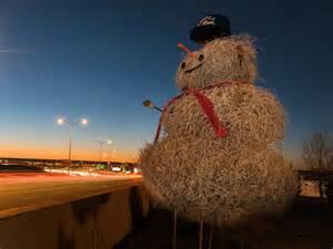 Tumbleweed Snowman Albuquerque