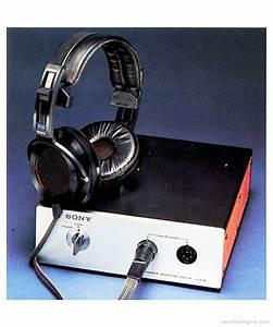 Sony Ecr-800 - Manual - Stereo Headphones