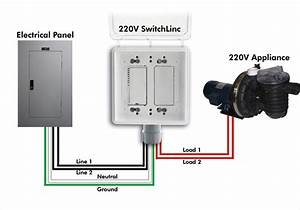 Light Switch Wiring Diagram 220v