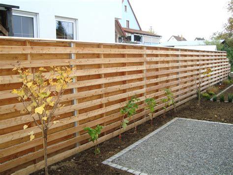 Sichtschutzzaun Holz Garten by Zaunelemente Aus Holz Zaun Design Sichtschutzzaun Bauhaus