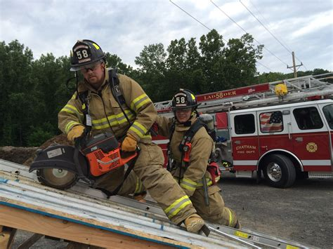 Firefighters sharpen ventilation skills - The Columbia Paper