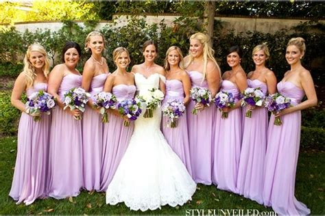 Light Purple And Green Wedding