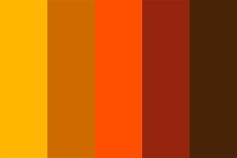 Warm Palette Color Palette