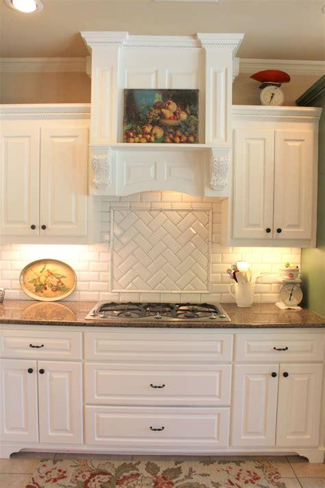 backsplash in white kitchen subway or morrocan tile backsplash with white cabinets
