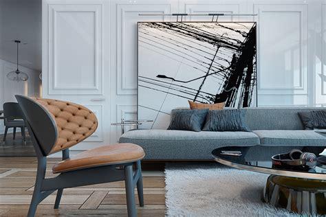 modern oversize art interior design ideas