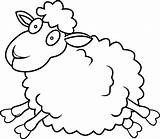 Sheep Coloring Pages Lamb Printable Lambs Jump Wecoloringpage Oveja Colouring Goats Minecraft Animal Lost Awesome Dog Getcolorings Toddler Sketch Adult sketch template