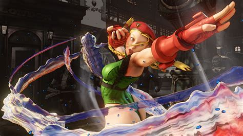 Street Fighter Cammy Techniques Of Incomparable