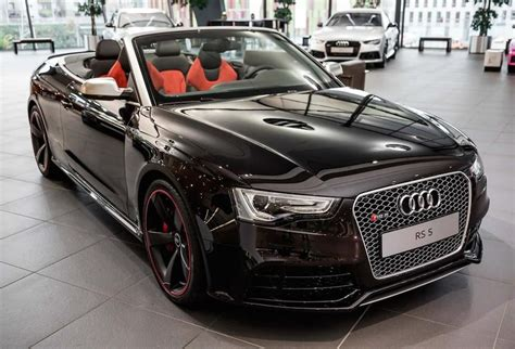 Modifikasi Audi Rs5 by Audi Rs5 Black Convertible Search My Wheels