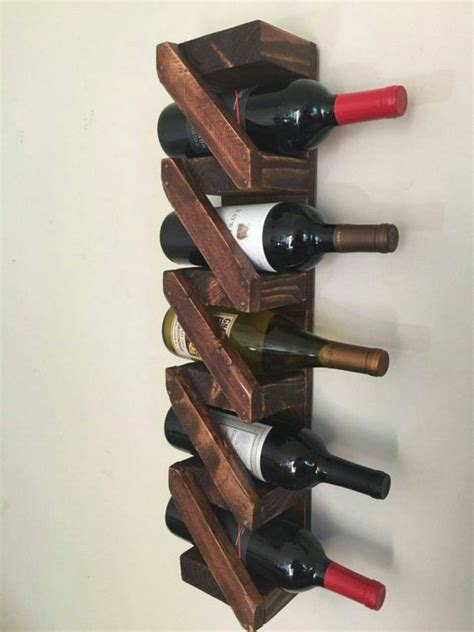 Wine Rack Himself Build And Properly Store The Wine ...