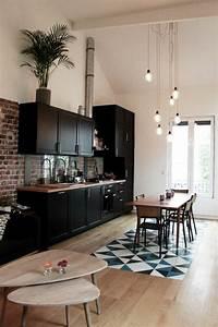 56 idees comment decorer son appartement for Idee deco cuisine avec meuble salle a manger et salon