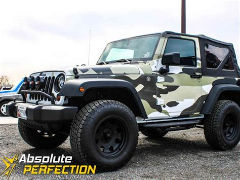 camo jeep yj camo jeep vehicle wrap absolute perfection baltimore md