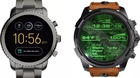 fossil to launch 300 smart watches across diesel fossil emporio armani and other fashion
