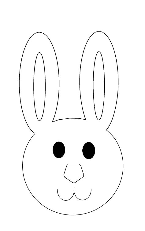 easter bunny mask templates hd easter images