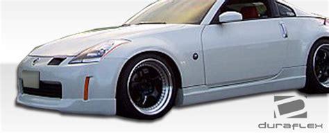 2003-2005 Nissan 350z Urethane Wings Front Lip Spoiler
