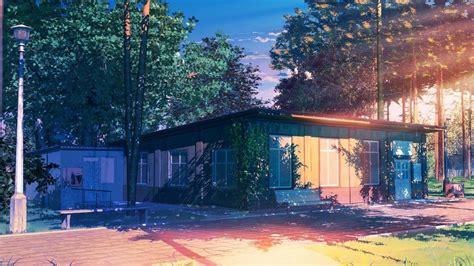Anime House Wallpaper - fondos de pantalla 193 rboles hojas anime naturaleza