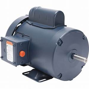 Leeson General Purpose Electric Motor  U2014 1 Hp  1800 Rpm