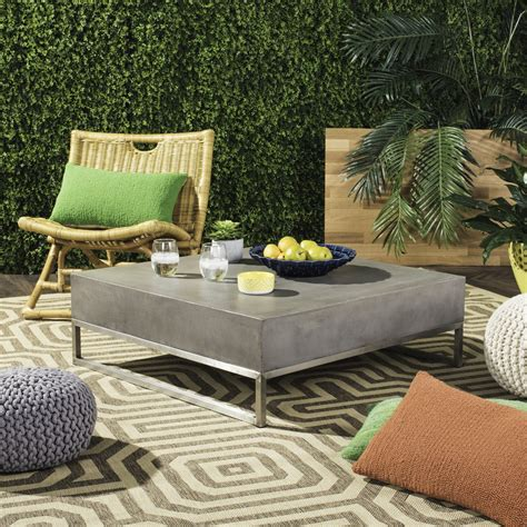 Safavieh Patio Furniture by Vnn1017a Patio Tables Furniture By Safavieh