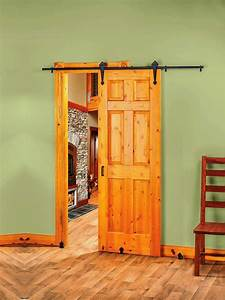 interior barn doors designs you should consider for With custom barn door kits