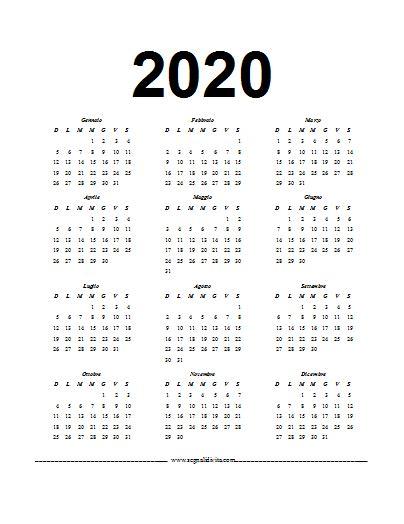 calendario del