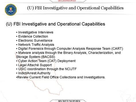 bureau of financial institutions u fouo fbi financial sector cyber security presentation