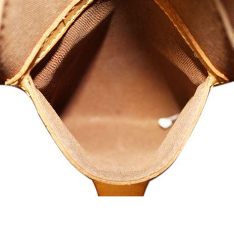 authentic louis vuitton monogram ellipse gm handbag purse