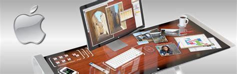 le bureau tactile idesk un bureau tactile pour les machines apple