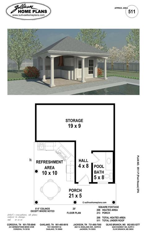 pool house plan when i a home i will a pool with a pool house