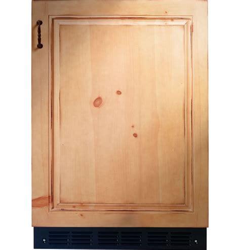 ge monogram zibipii  cu ft custom panel built  undercounter compact refrigerator