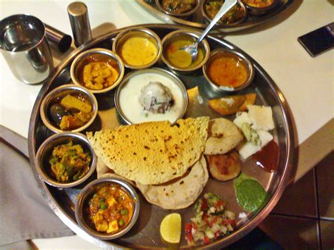 stock pictures indian thali typical indian vegetarian meal