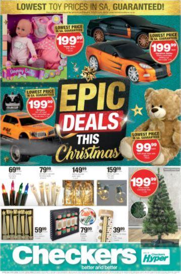 checkers epic toy deals  nov   dec  black