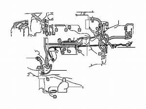 Lexus Rx 400h Wire  Engine  No  4  Instrument  Panel