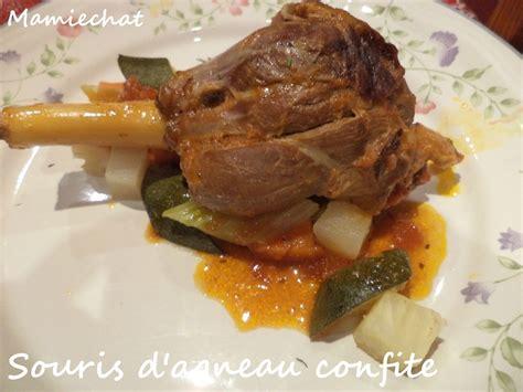 souris cuisine souris d 39 agneau confite blogs de cuisine